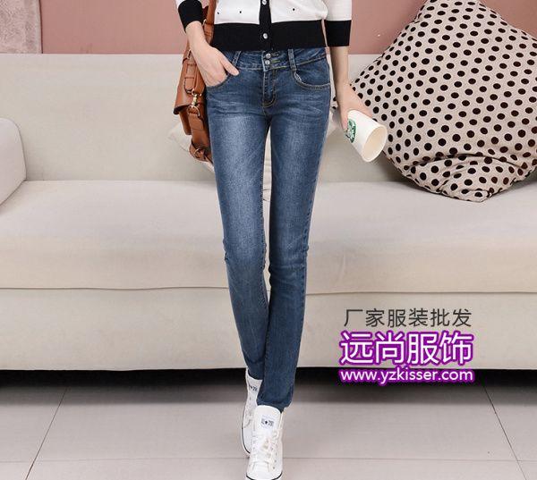 款式多质量好销量大利润可观的牛仔裤批发