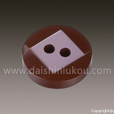 棕色陶瓷纽扣 厂家批发