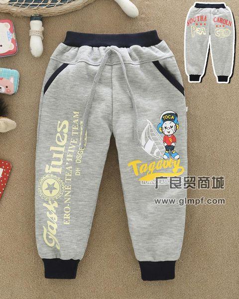 流行时尚韩版童装卫裤批发