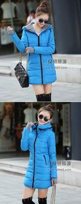 女式冬装便宜羽绒服批发