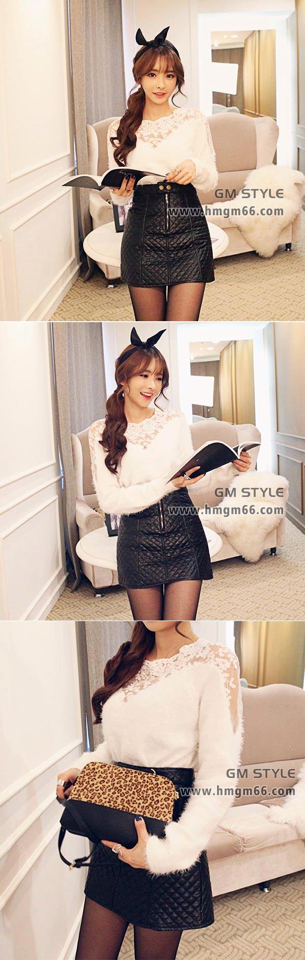 2014冬装时尚毛衣韩版印花女装套头毛衫批发