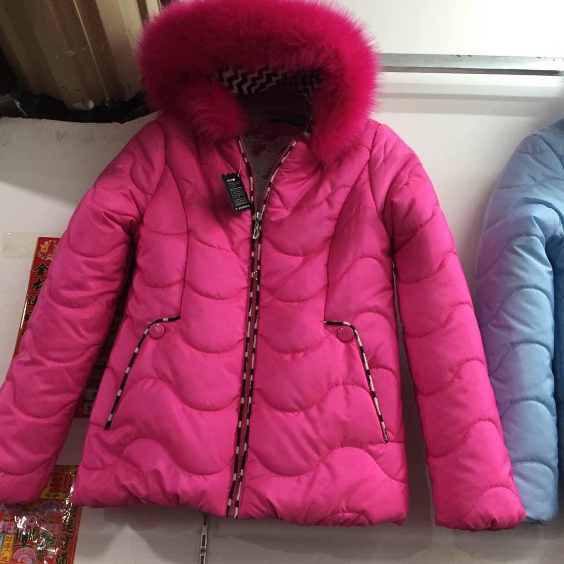 喀什最便宜冬装加厚棉服加绒裤子加绒马夹爆款女装棉衣低价批发