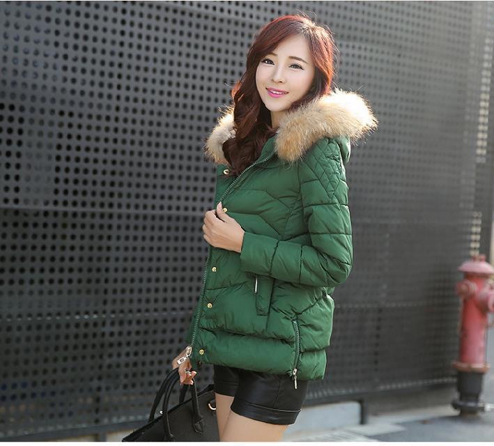 2014冬装新款棉衣短款女修身羽绒棉服外套韩版时尚小棉袄批发