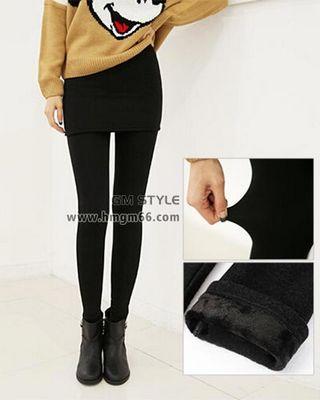 时尚流行假两件打底裤裙裤批发