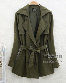 韩版冬装时尚女式外套批发