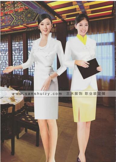 河南三水服饰为大型公司专门定做工作服