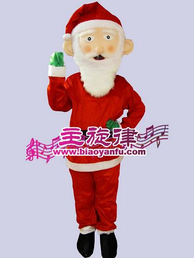 天津塘沽节日服装圣诞节卡通人偶服装租赁