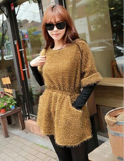 中低档女装韩都衣舍品牌时装冬装新款批发