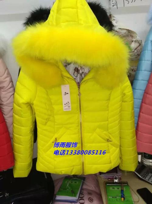 武汉女装外套2014新款棉衣批发