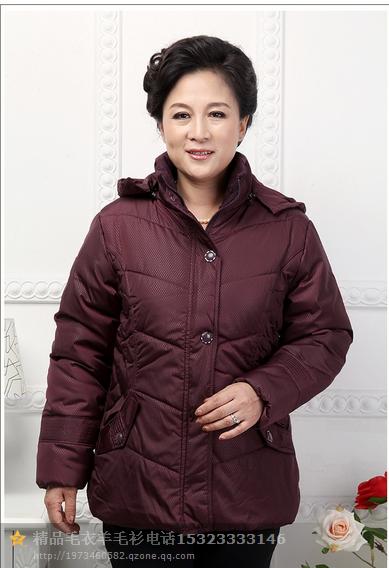 广州便宜中老年棉服批发
