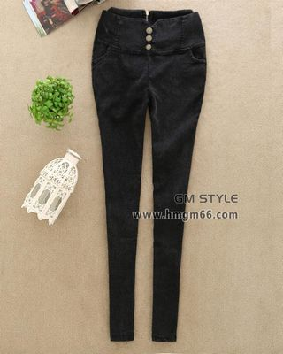时尚加绒铅笔裤冬季美腿保暖长裤批发
