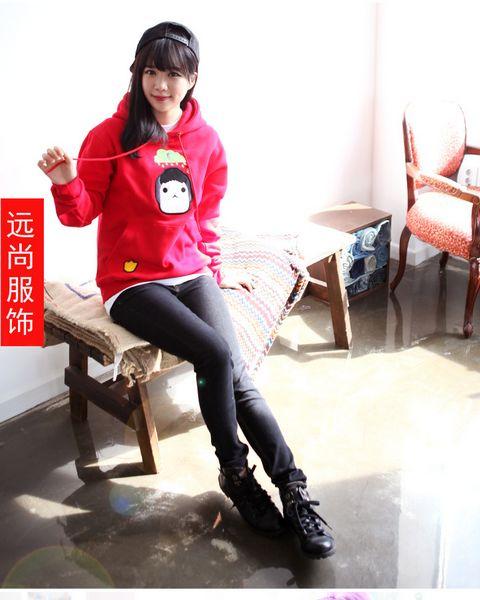时尚休闲韩版女装卫衣批发