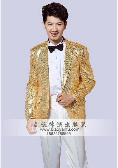 天津滨海新区舞台服装主持人礼服白色毛料披肩中山装五四青年装出租