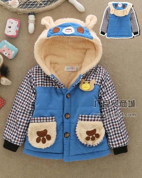 冬季儿童保暖棉衣棉服批发