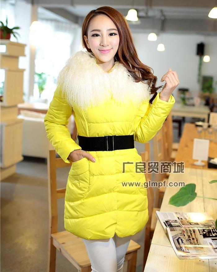 韩版冬季女装外套批发