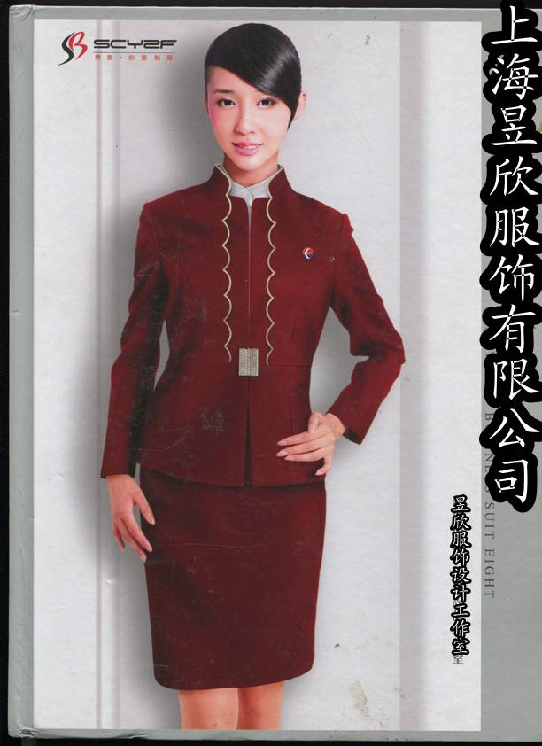 上海酒店餐饮服装夏季服务员工作服定做