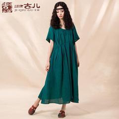 北京古儿大版折扣女装棉麻系列批发