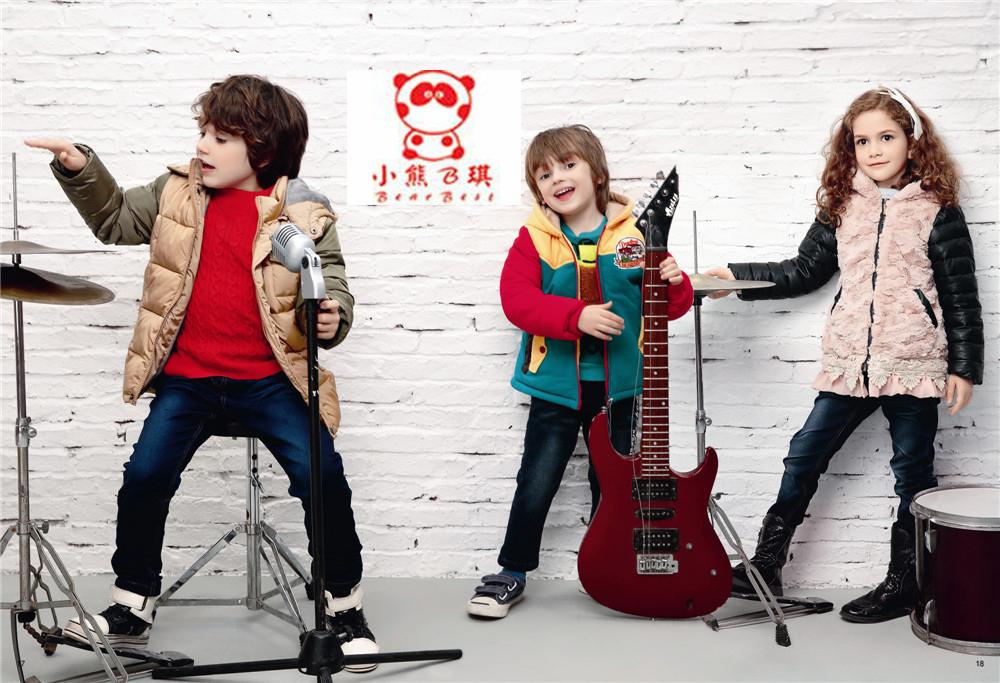 【小熊B琪】分享童装搭配技巧,诚邀加盟