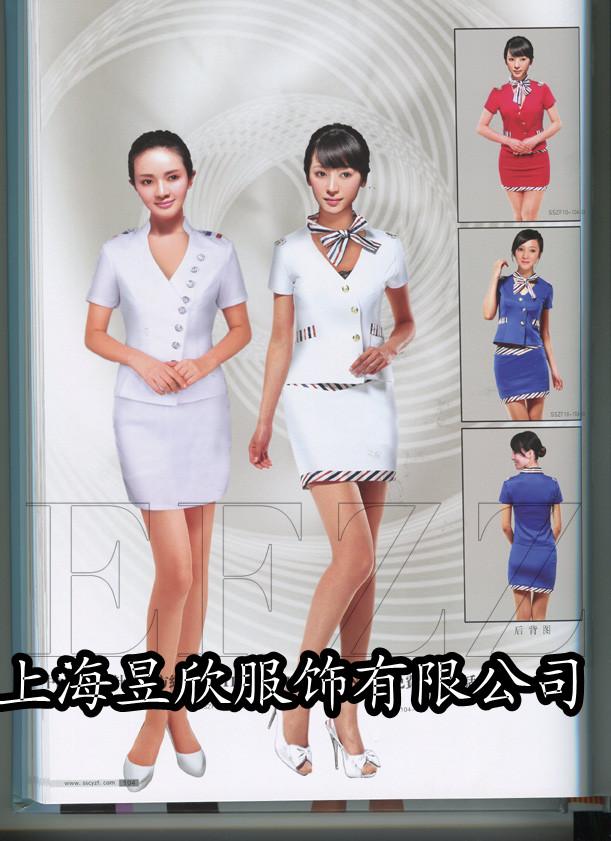 上海定做酒店工作服装餐饮制服定制
