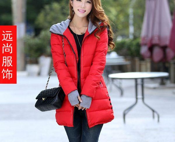 冬季新款时尚可拆卸短款羽绒棉服保暖修身显瘦毛领棉衣批发