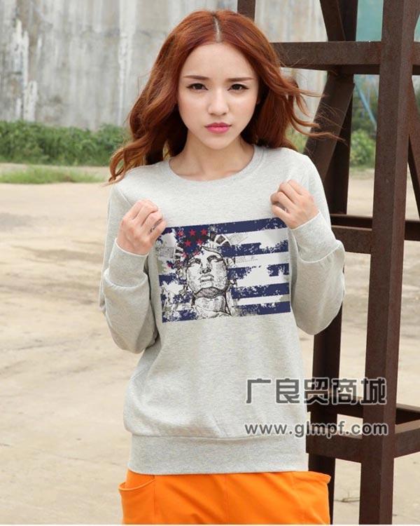 韩版时尚休闲女装T恤批发