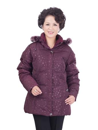 厂家直销便宜尾货中老年加厚女装棉服批发