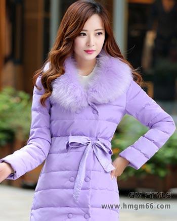 冬季时尚女羽绒服批发