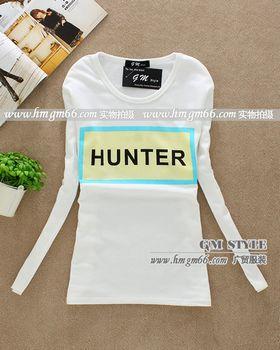 韩版时尚纯棉卡通印花T恤批发
