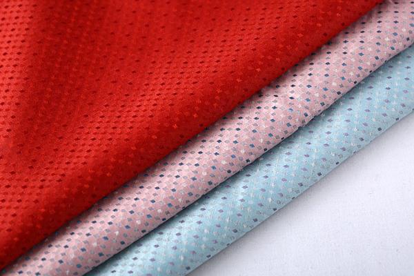 上海供应新款色织提花面料时尚女装提花面料