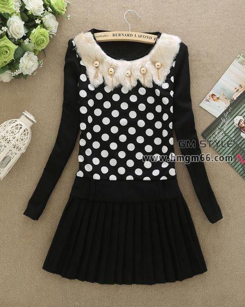 2014冬季新款女装韩版修身不倒绒加厚中长款打底裙女装包臀打底上衣批发