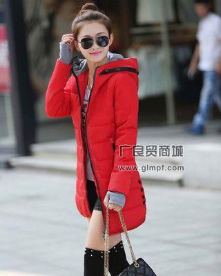 常熟北京品牌新款长款羽绒服批发