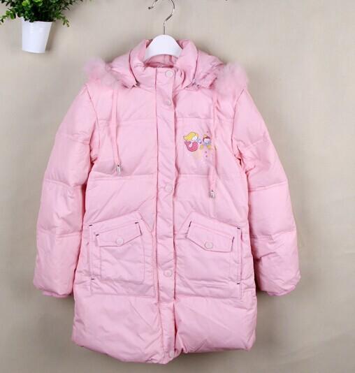 儿童冬款品牌羽绒服特价铺货供应