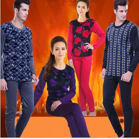 便宜的加厚加绒保暖内衣厂家直销批发