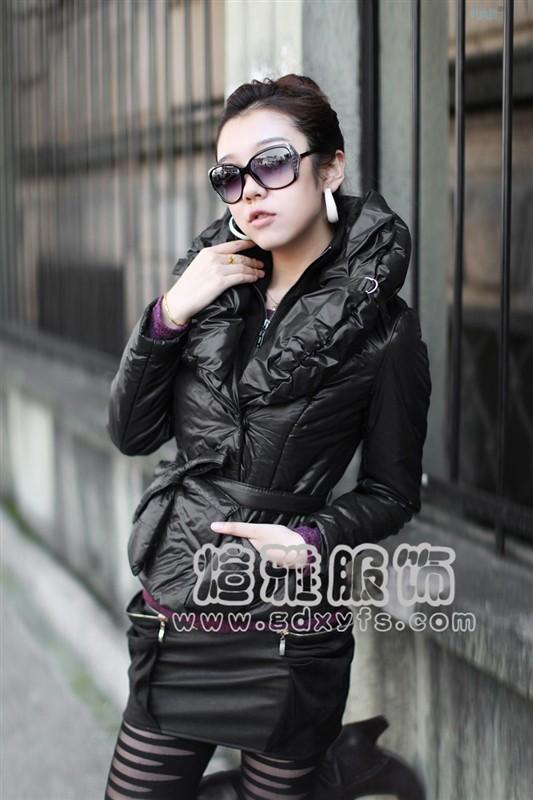 扬州金华尾货新款女装时尚加厚库存棉服一手低价货源批发