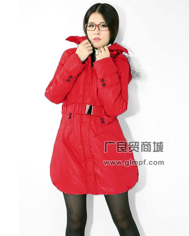 适合圣诞节元旦促销的服装韩版时尚羽绒服批发