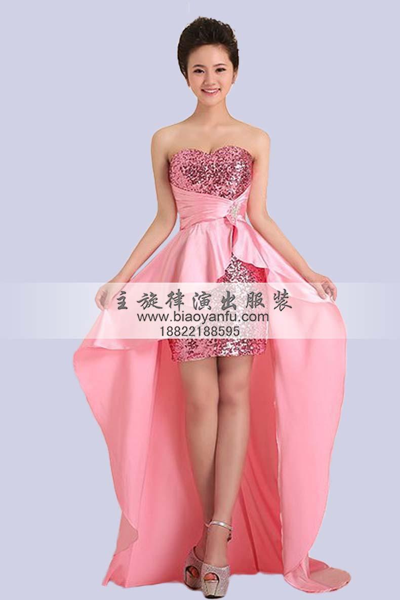 天津迎宾礼仪服装长款颁奖礼服旗袍租赁