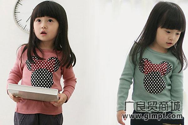 韩版童装上衣小女孩纯棉裙子批发