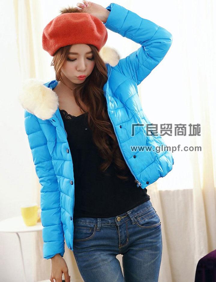 时尚便宜冬季棉服批发
