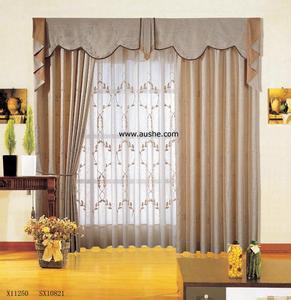 专业生产销售质量好的家居窗帘