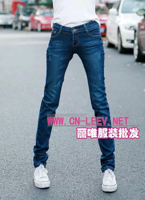 广东最便宜的牛仔裤服装批发