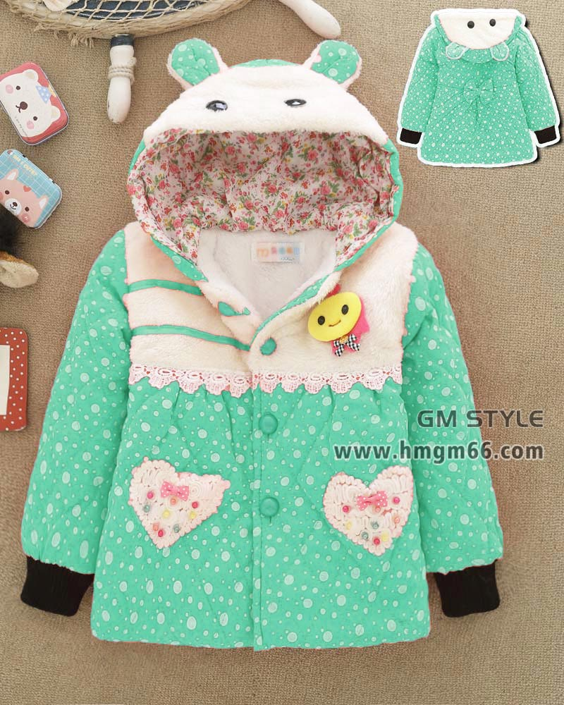 儿童印花拉链外套保暖童装外套大卖场童装货源批发市场