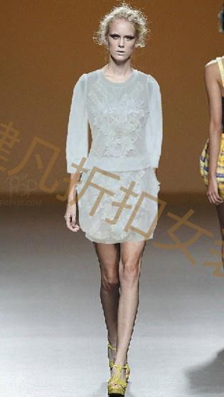 厂家一手货女装高档夏季真丝雪纺连衣裙混批
