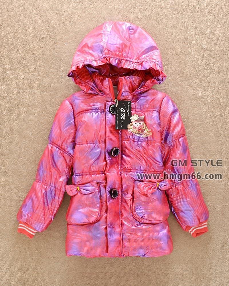 冬季儿童保暖棉衣男女童棉衣批发