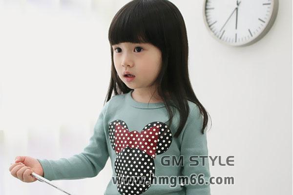 女童男童T小孩韩版上衣衫批发