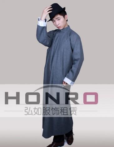 上海主题相声服杨浦区舞台装长衫服装租赁