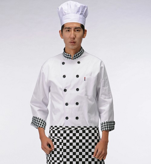 乐山西餐厅厨师服定做批发