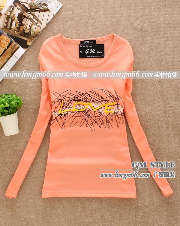广东春季流行T恤全国最大最便宜的女装T恤批发市场