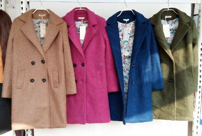冬装便宜衣服时尚春季新款外套大衣女装冬装衣服批发市场