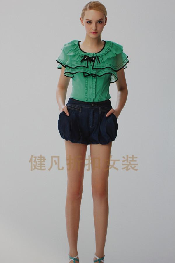 混批时尚春夏连衣裙上衣一手货源超低价格