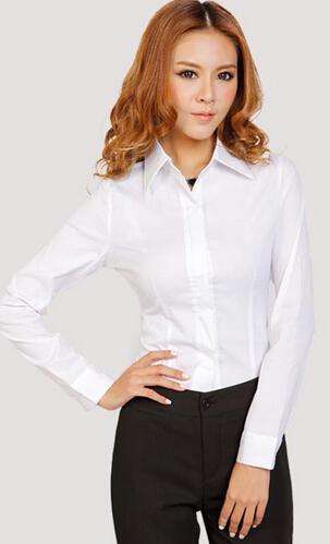 双流女士职业装衬衫 休闲衬衫定做批发